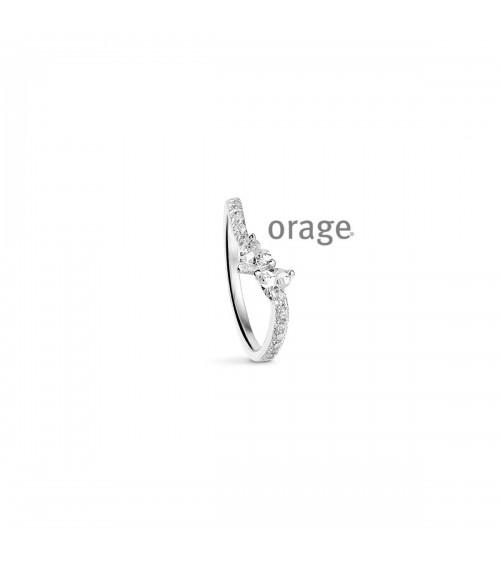 Bague argent - Orage - Collection Saint-Valentin