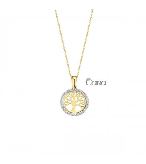 Pendentif or jaune - 18 carats - CARA