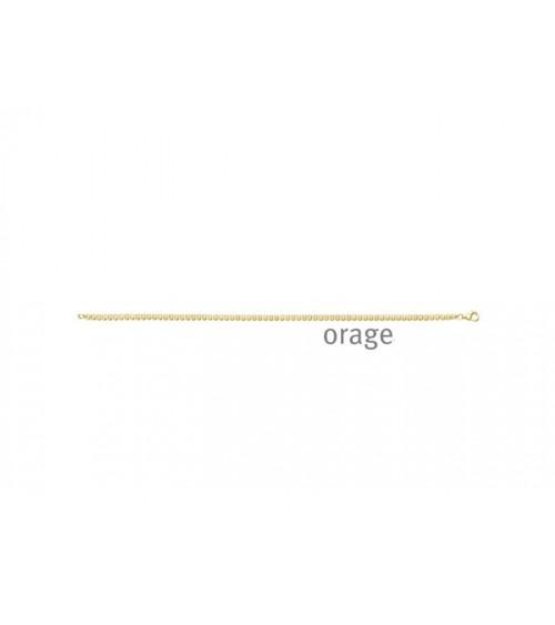 Bracelet Orage plaqué or pour femmes - Bijouterie Cécile