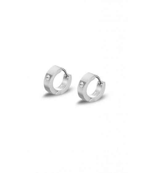 Boucles d'oreilles - Collection acier - Hommes