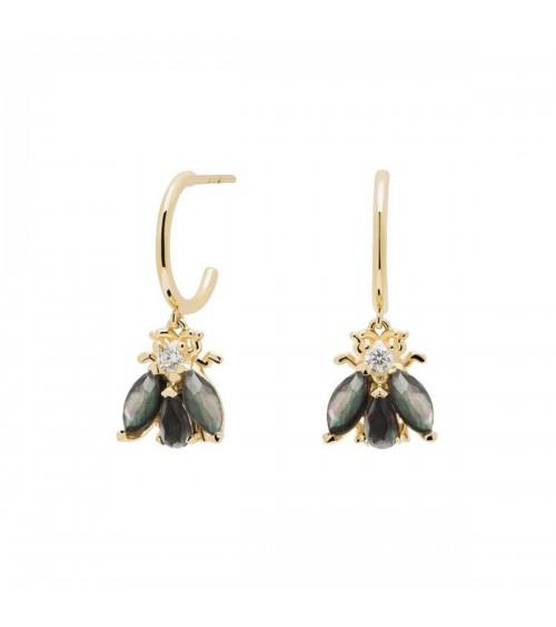 Boucles d'oreilles plaqué or - PD Paola - Collection ZAZA