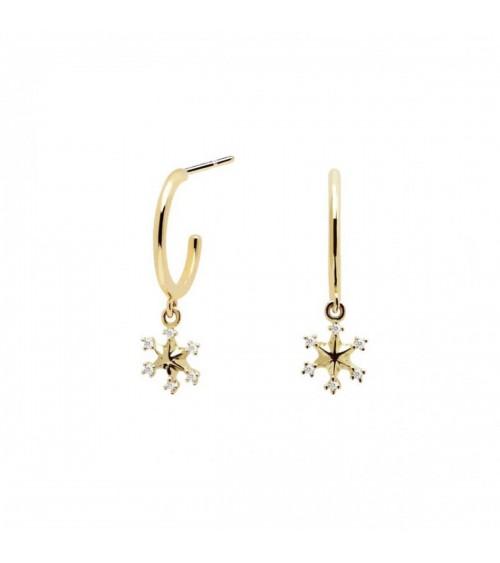 Boucles d'oreilles plaqué or - PD Paola - Collection ARIZONA