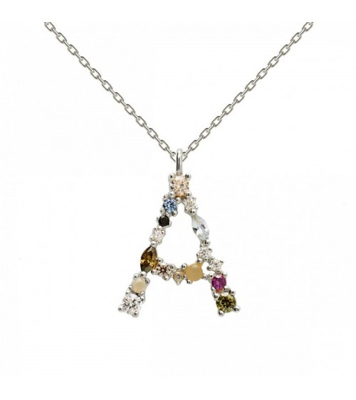 Collier argent - PD Paola - Collection LETTERS