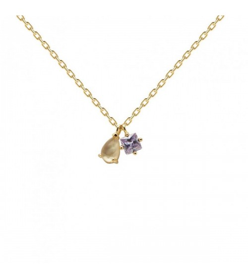 Collier plaqué or - PD Paola - Collection CAVALIER