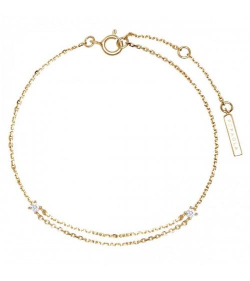 Bracelet plaqué or - PD Paola - Collection AISHA
