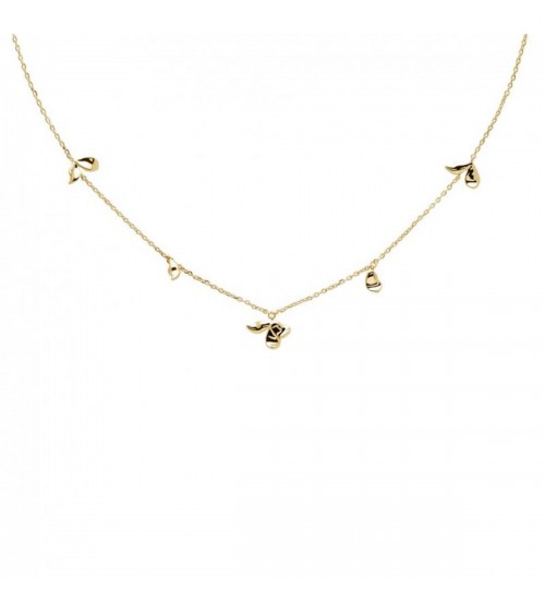 Collier plaqué or - PD Paola - Collection BLOSSOM
