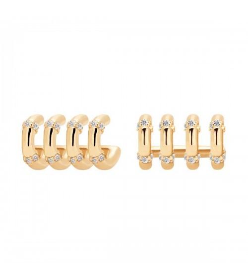Boucles d'oreilles plaqué or - PD Paola - Collection GISELLE