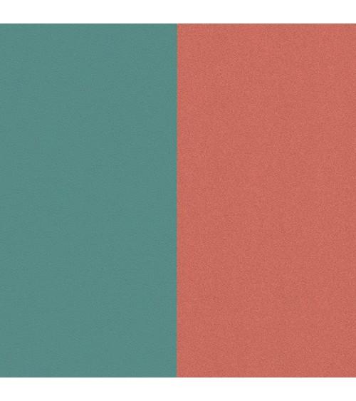 Cuir - Les Georgettes - Cuir Bleu Minéral/Argile Rose