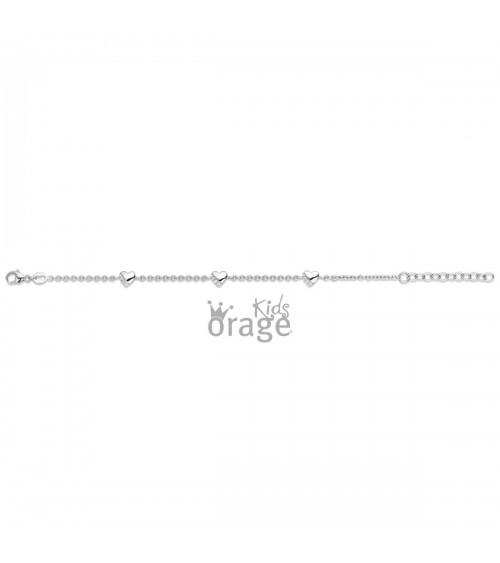 Bracelet Argent - Orage - Collection Kids