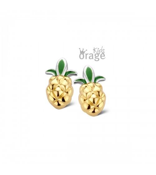 Boucles d'oreilles Argent - Plaqué or - Orage - Collection Kids