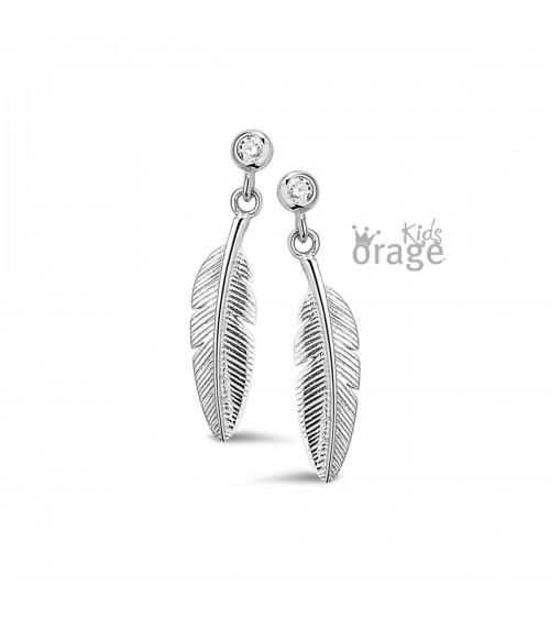 Boucles d'oreilles - Argent - Orage -  Collection kids