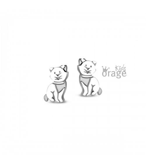 Boucles d'oreilles Argent - Orage - Collection Kids