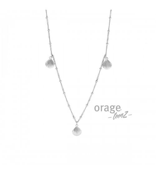 Collier Argent - Orage - Collection TeenZ