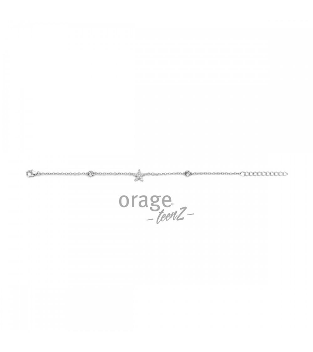 Bracelet Argent - Orage - Collection TeenZ