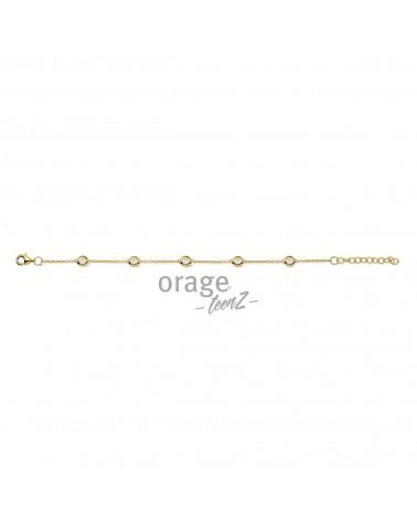 Bracelet Argent - Plaqué or - Orage - Collection TeenZ