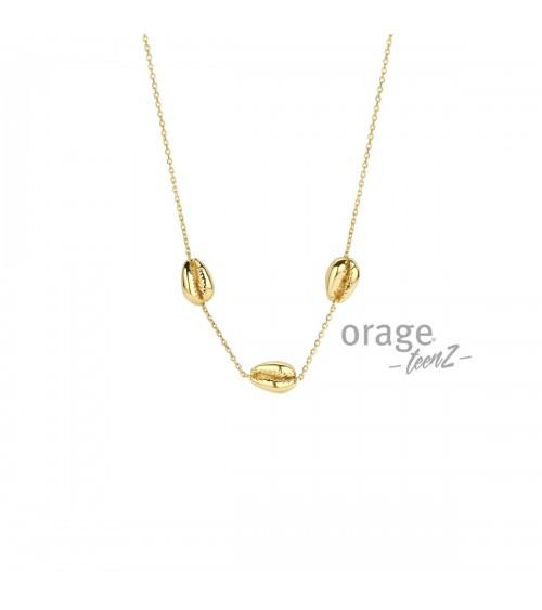 Collier Argent - Plaqué or - Orage - Collection TeenZ