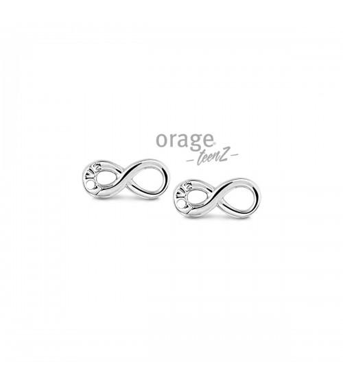 Boucles d'oreilles Argent - Orage - Collection TeenZ