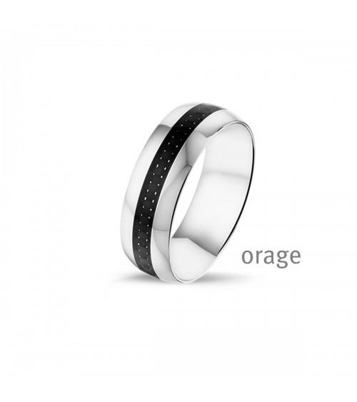 Bague Acier - Orage - Collection homme