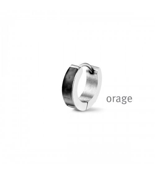 Boucles d'oreilles Acier - Orage - Collection homme