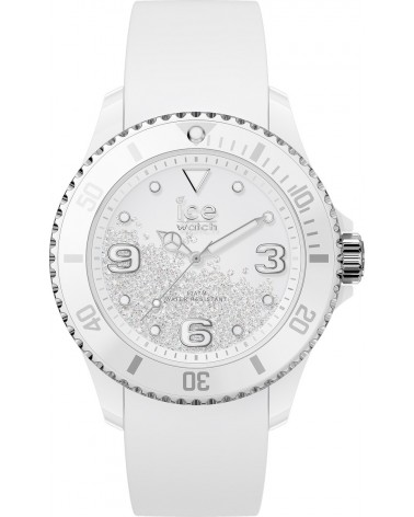 Montre ICE Crystal - Ice Watch - White silver M