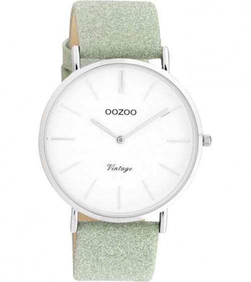 Montre OOZOO - Vintage series - Virdigan green/white