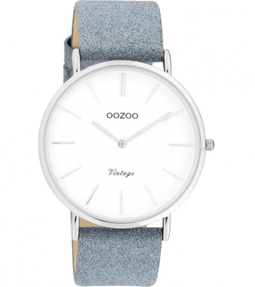 Montre OOZOO - Vintage series - Blue/white