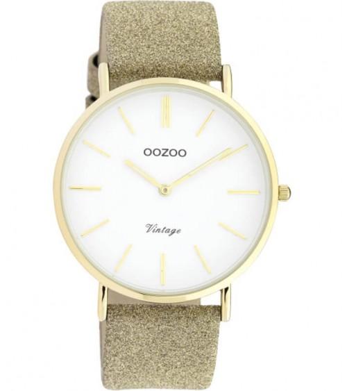 Montre OOZOO - Vintage series - Gold/white
