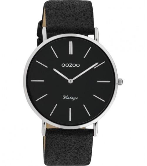 Montre OOZOO - Vintage series - Black