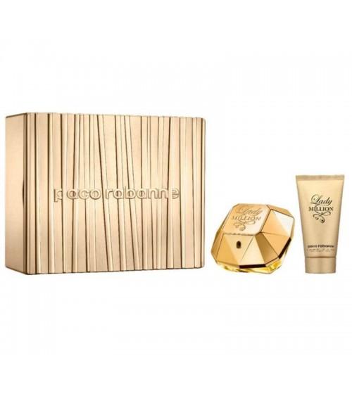 Parfum femme - Paco Rabanne - Coffret Lady Million - Eau de parfum