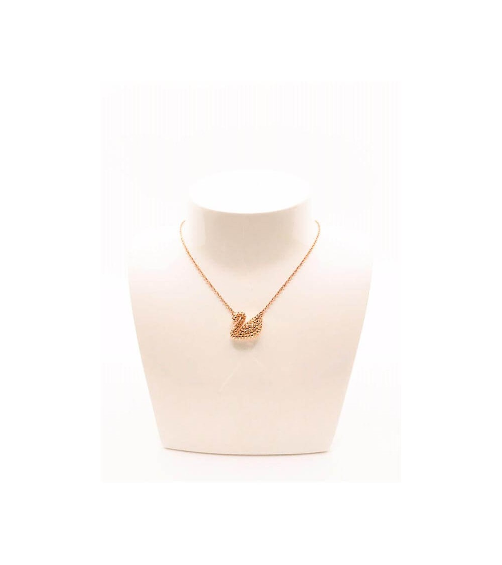 Collier Métal Rosé - Swarovski - Collection Iconic Swan