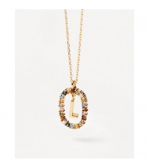 Collier plaqué or - PD Paola - Collection NEW LETTERS