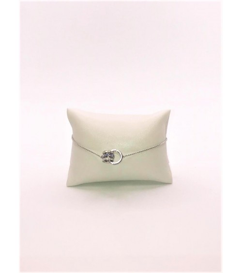 Bracelet Métal Argenté - Swarovski - Collection 125 Anniversary