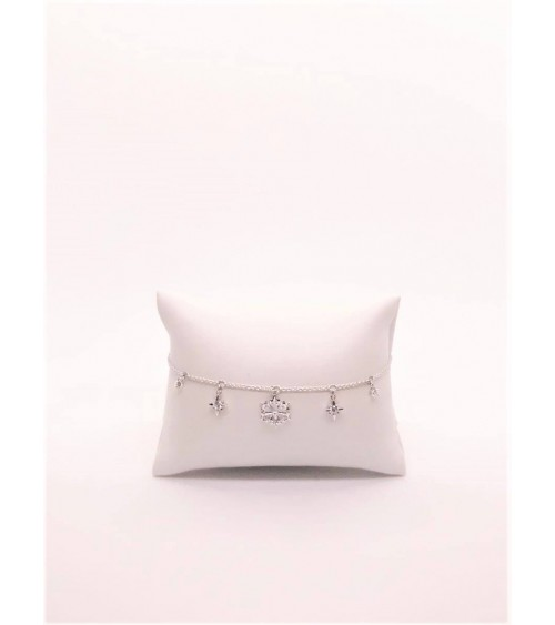 Bracelet Métal Argenté - Swarovski - Collection Magic