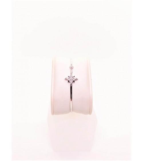 Bracelet Métal Argenté - Swarovski - Collection Symbolic