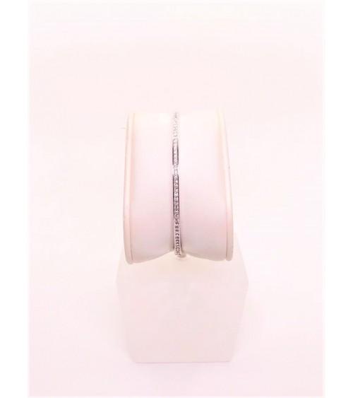 Bracelet Métal Argenté - Swarovski - Collection Rare