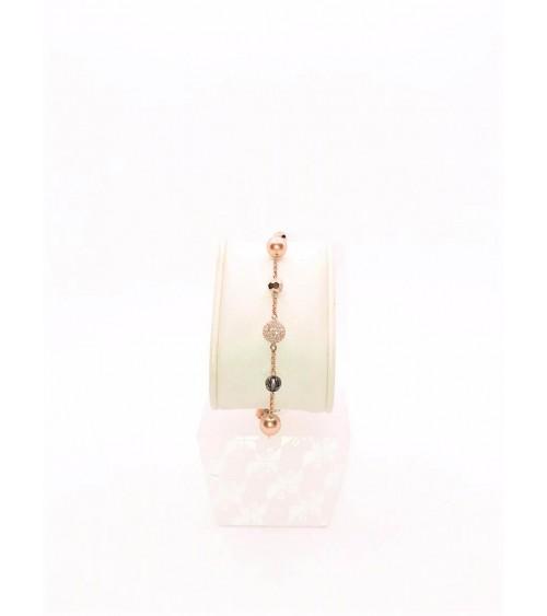 Bracelet Métal Rosé - Swarovski - Collection Remix