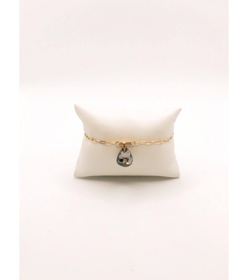 Bracelet Métal Doré - Swarovski - Collection T Bar