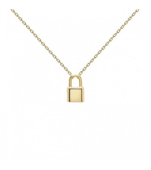 Collier plaqué or - PD Paola - Collection ENGRAVE ME