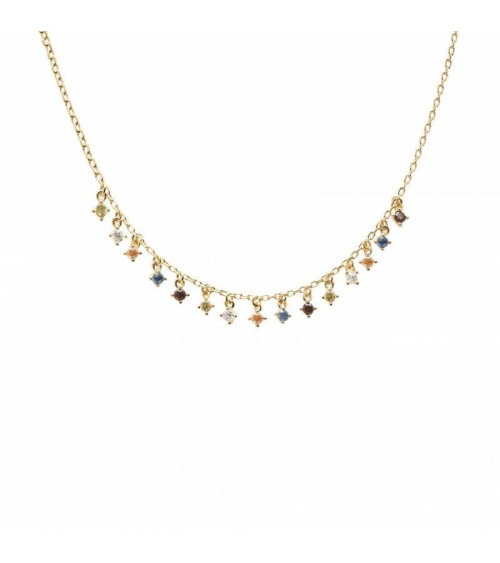 Collier plaqué or - PD Paola - Collection FIVE