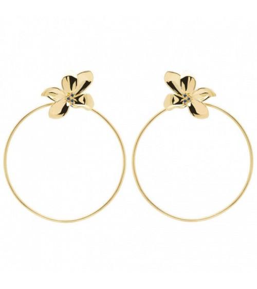 Boucles d'oreilles plaqué or - PD Paola - Collection BLOSSOM