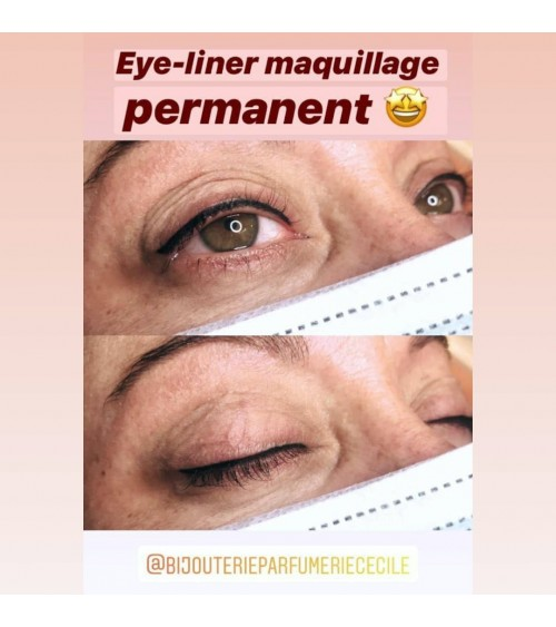 Maquillage semi-permanent eye liner