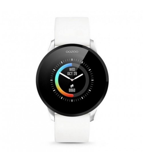 Montre OOZOO - Smartwatch - White/Silver
