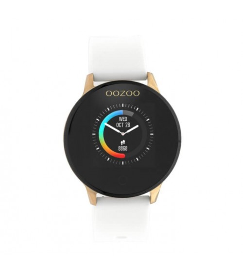 Montre OOZOO - Smartwatch - White/RoseGold