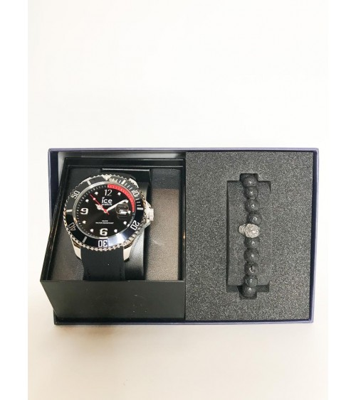 Montre ICE Steel - Ice Watch - Black L - Gift box