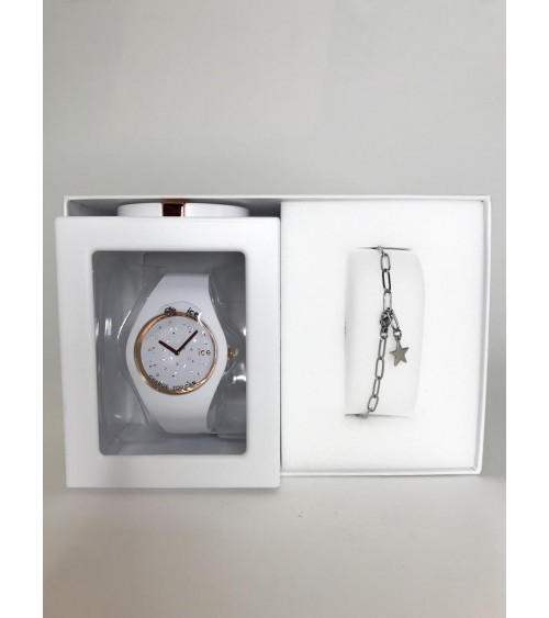 Montre ICE cosmos - Ice Watch - Star White M - Gift Box