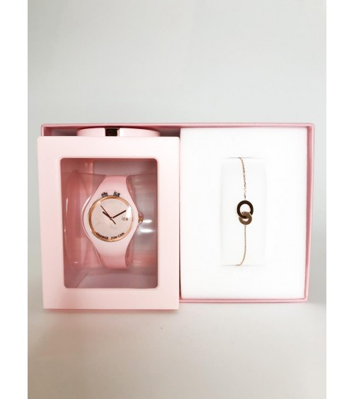 Montre ICE Glam pastel - Ice Watch - Pink lady M - Gift Box