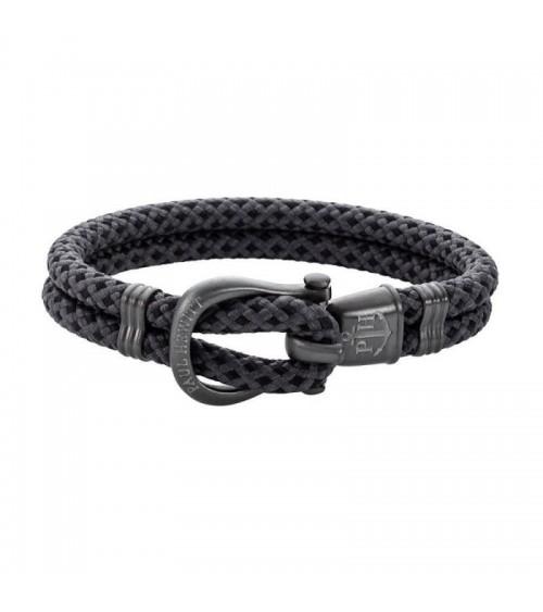 Bracelet Paul Hewitt - Acier/Nylon- Collection Homme - XL