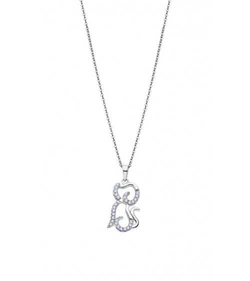 Collier Lotus - Collection argent