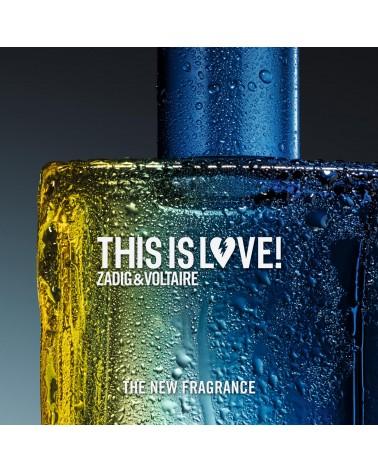 Parfum homme - Zadig et Voltaire - Eau de toilette - This is Love!