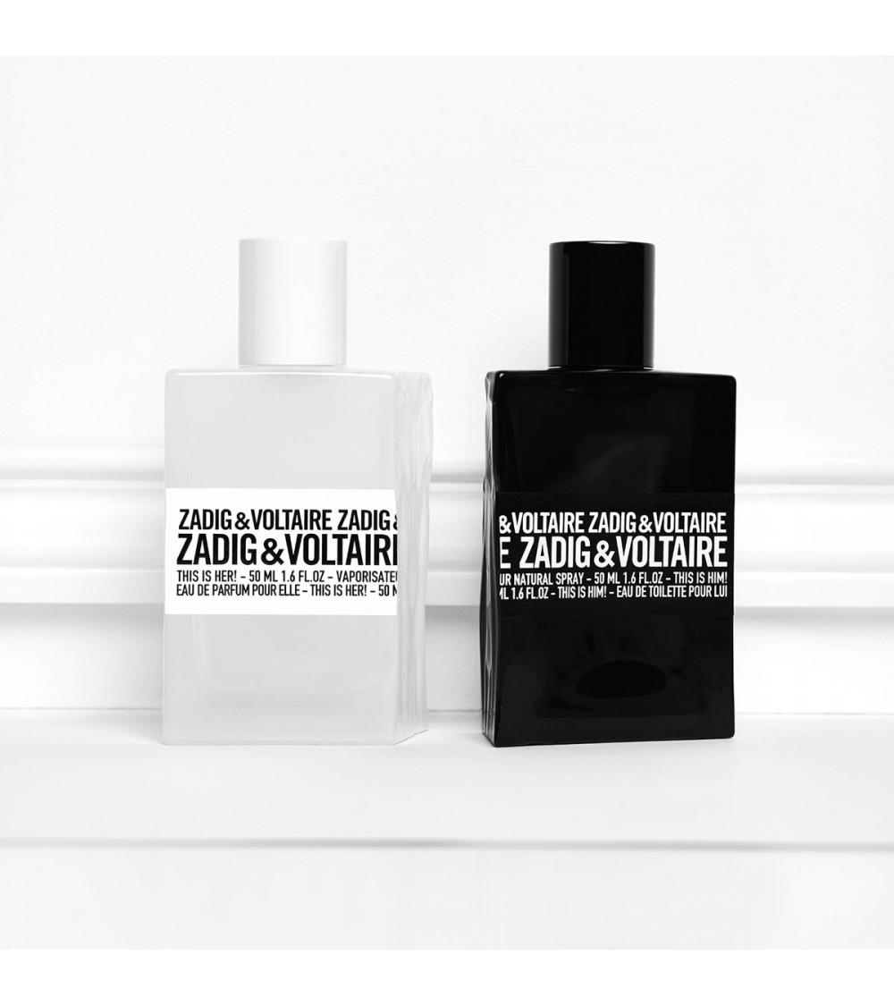 Parfum homme - Zadig et Voltaire - Eau de toilette - This is Him!